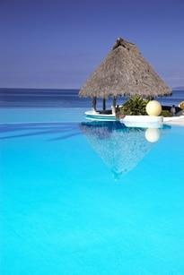 בקתה על הים - חואן דוליו - האיים הקריביים - לעמוד
