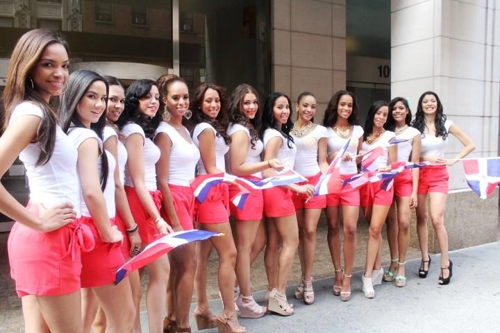 בנות הרפובליקה הדומיניקנית במצעד - לה וגה