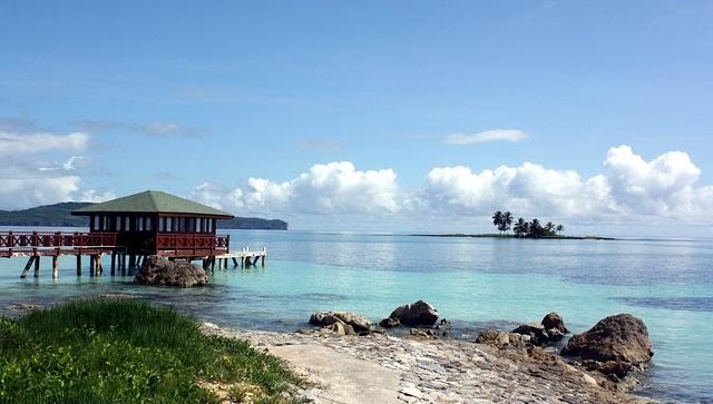 האוקיינוס לחופי הרפובליקה הדומיניקנית