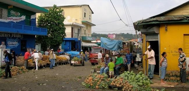 מראה אופייני בעיר סנטיאגו