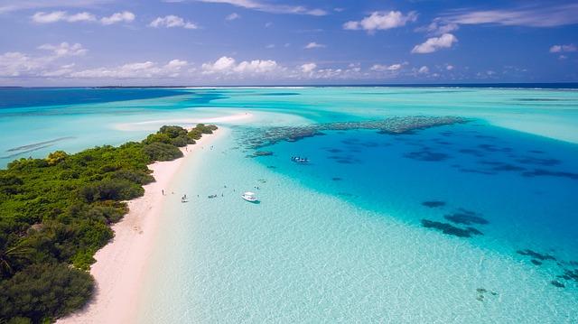 חוף טיפוסי ברפובליקה הדומיניקנית