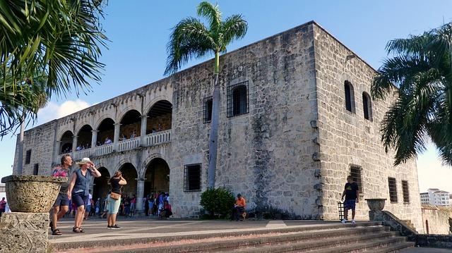 בניין עתיק בסנטו דומינגו